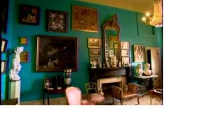 """Turquoise"" Sitting Room at Lakeside Plantation"