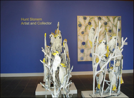 """Mykonos Blue"" at Ogden Museum's Hunt Slonem Exhibit"