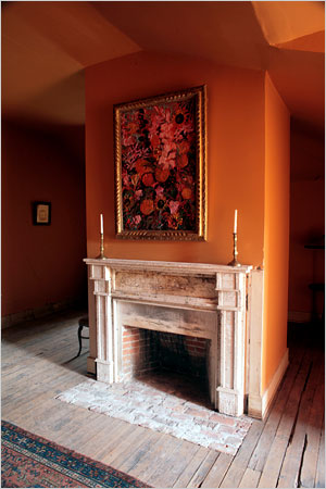 """Tuscan Sun"" walls & ceiling @ Lakeside Plantation"