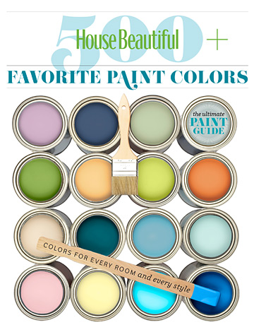 House Beautiful 500 Favorite Paint Colors