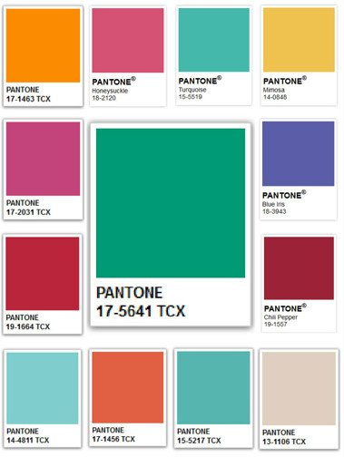 2013 S Color Of The Year Emerald Green