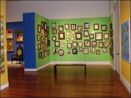 Hunt Slonem Bunny Paintings-Ogden Museum