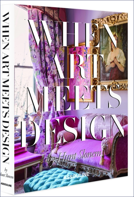 When Art Meets Design by Hunt Slonem is available for pre-order on Amazon.com