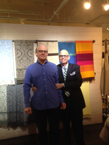 NYC photographer Alec Harrison & Interior Designer Marc Charbonnet at Anichini NYC.