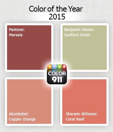 2015 Color Of The Year