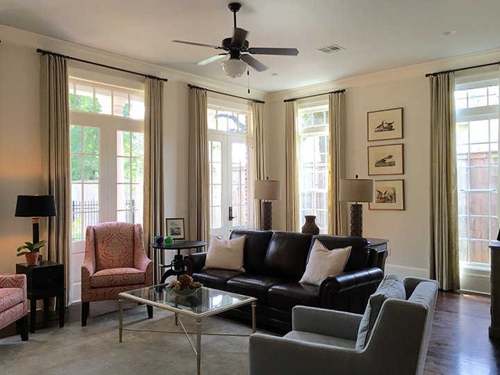 ... Baton Rouge. The Living Room Shown Below Opens Into Both The Dining  Area And Kitchen. To See More Photos, Check Out My Latest Living Well  Newsletter.